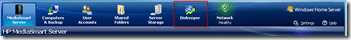 new diskeeper tab