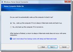 home computer wake up