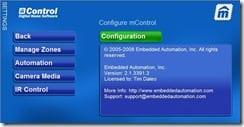 mControl Config