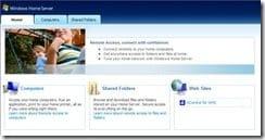 WHS in Internet Explorer