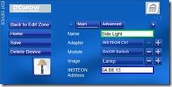 mControl Edit Device