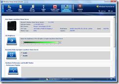 System Information - upper screen