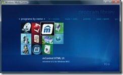 mControl HTML interface