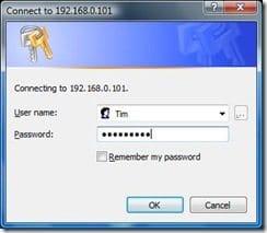 Password Login