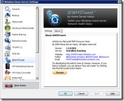 WHSTweet new version
