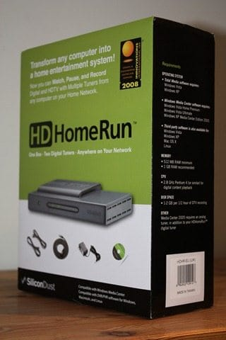 Review of HDHomeRun Networked Digital TV Tuner - Movies
