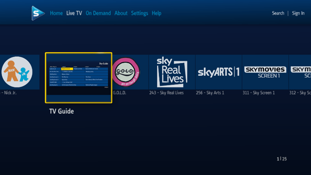 Sky Player in Windows Media Center Now Live - Movies Games