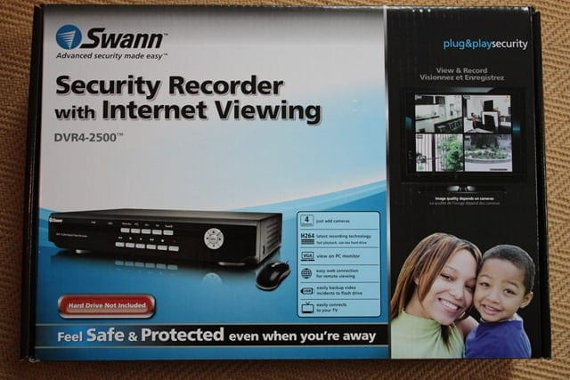 Review of the Swann DVR4-2500 Security Recorder - Movies