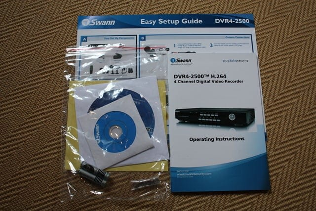 Review of the Swann DVR4-2500 Security Recorder - Movies Games and Tech