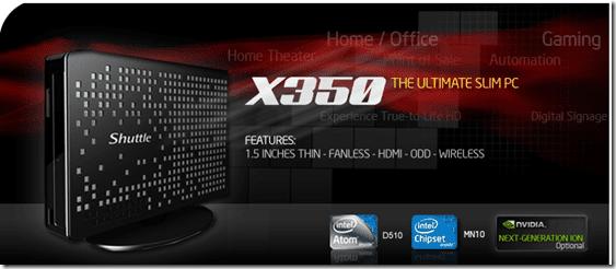 X350 slim