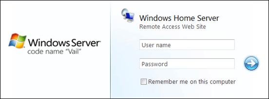 Remote Access Web Site