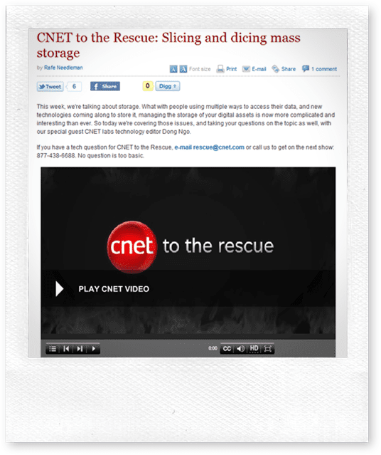 CNET to the Rescue