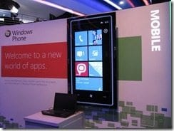 Microsoft Booth - CES 2011 - UWHS