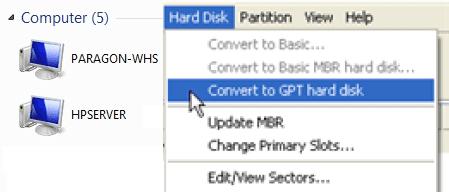 paragon gpt loader free