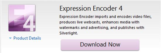 Microsoft Expression Encoder 4 - Make Videos Like A Professional