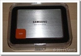 UWHS - Review of the Samsung 470 Series SSD