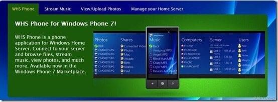 WHS-Phone