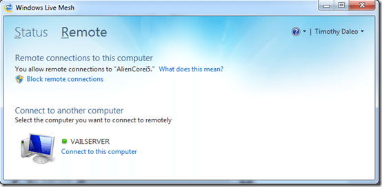 Windows Live Mesh 2011