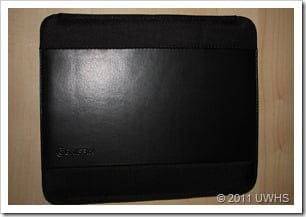 UWHS Review - Griffin Elan Sleeve for the Apple iPad 2