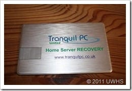 Tranquil Recovery Key