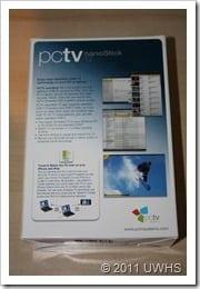 UWHS Review - PCTV Systems pctv nanoStick T2 010