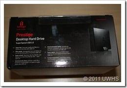 UWHS Review - Iomega Prestige Desktop Hard Drive 006