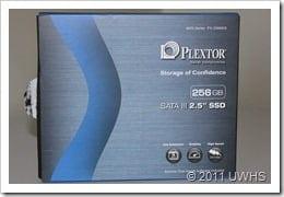 UWHS Review - Plextor PX-256M2S SSD 1