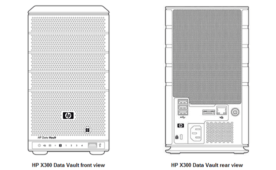 HP Storageworks X310 Data Vault