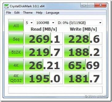 CrystalDiskMark SATA 3