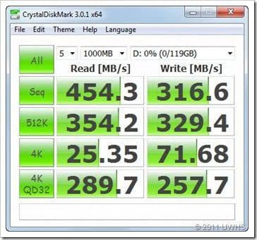 CrystalDiskMark SATA 6