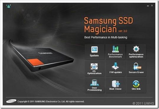 Samsung SSD Magician 9