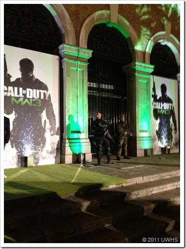 UWHS - MW3 Launch Party Entrance 2