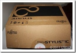 UWHS Review - Fujitsu STYLISTIC Q550 Slate - 1