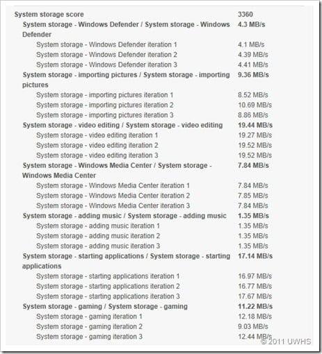UWHS Review - Fujitsu STYLISTIC Q550 Slate - Performance 10