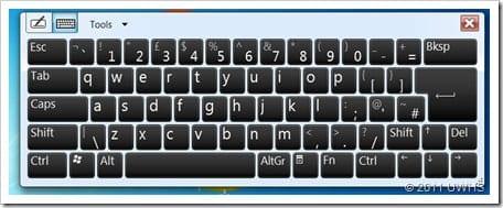 UWHS Review - Fujitsu STYLISTIC Q550 Slate - Performance - Screens 1