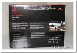 UWHS Review - Iomega Mac Companion Hard Drive 003