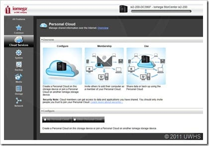 UWHS Review - Iomega StorCenter ix2-200 Cloud Edition - 13