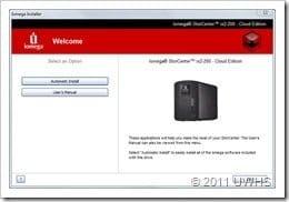 UWHS Review - Iomega StorCenter ix2-200 Cloud Edition - 2