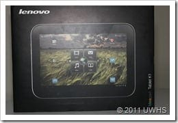 UWHS Review - Lenovo IdeaPad Tablet K1 004
