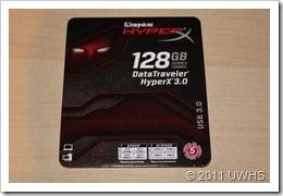 UWHS Review - DataTraveler HyperX 3.0 128GB USB Flash Drive 004