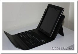 UWHS Review - Urban Factory Keyboard Black Sleeve for iPad 021