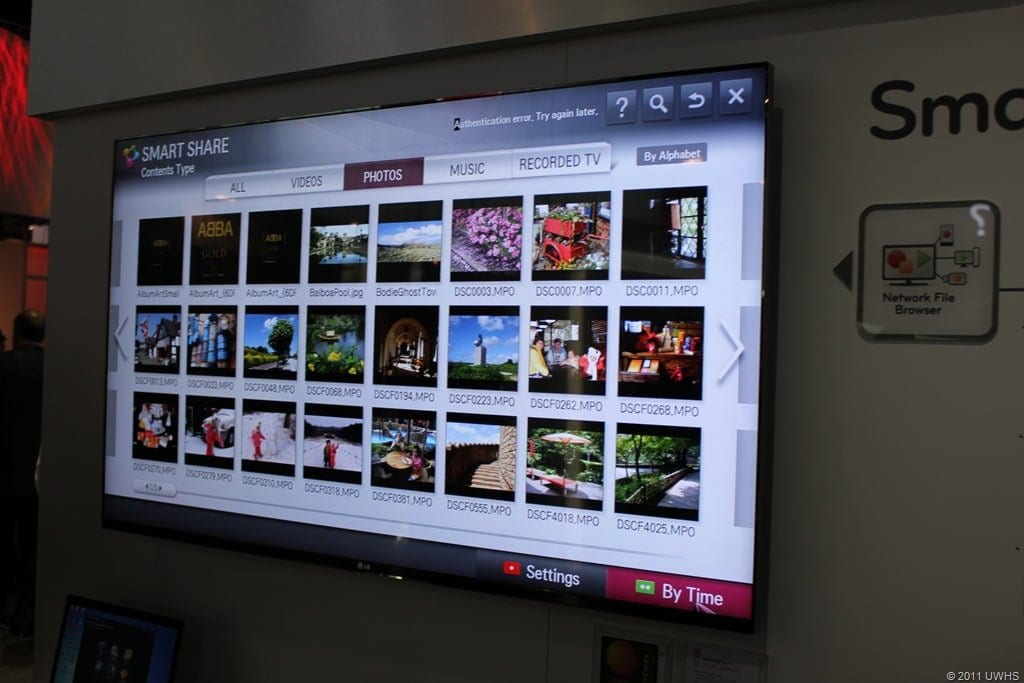CES 2012 - Hands-on With LG Smart Share - Movies Games and Tech