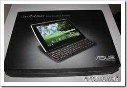 UWHS Review - ASUS Eee Pad Slider 001