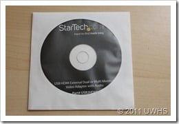 UWHS Review - StarTech USB HDMI adaptor 003
