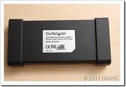 UWHS Review - StarTech USB HDMI adaptor 007