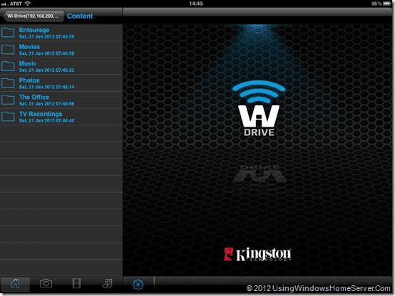 WiDrive Content