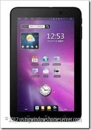 ZTE tablet