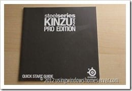 UWHS Review - SteelSeries Kinzu V2 Pro Edition Mouse 005