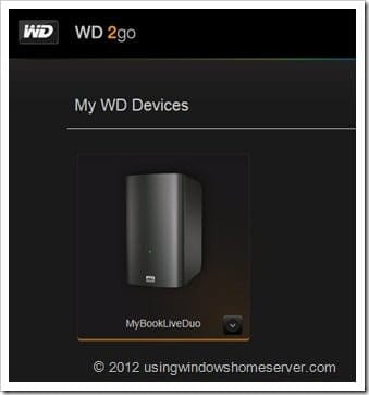 UWHS Review - WD My Book Live Duo 092