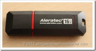 UWHS Review - Aleratec PortaStor Secure USB Flash Drive 008